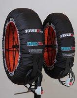 Front Row bandenwarmers / type EVO II by Tyrex/  regelbaar van 45 tot 85 graden