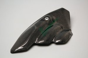 Carbon uitlaat-cover MV Agusta
