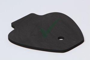 Neopreen foam op maat Ducati, dikte 13mm / zelfklevend