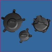 GB Racing 3-delig Set Motorblok Covers / Suzuki