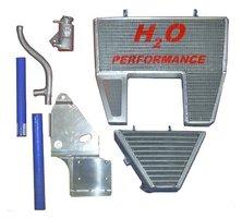 H2O Racing radiator Ducati / oversized