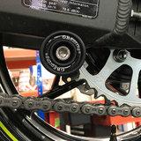 Achtervork bobbins / GB Racing / nylon / M8_