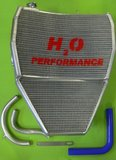 H2O Racing radiator Kawasaki / oversized _