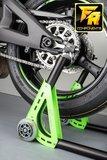 "LighTech ""NEW"" design paddockstand / universeel / met roll-opname_"