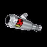 Akrapovic GP-styled slip-on titanium demper / Yamaha R6_