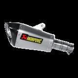 Korte Akrapovic Conical-hexagonal slip-on titanium demper / Yamaha R6_