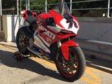 Koplamp sticker / Ducati_