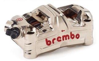 Brembo-HPK GP4-MS MONOBLOC remklauw / CNC/ nikkel coated / 100MM / Kawasaki ZX10R '16 > / H2-R