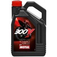 Motul 300V / 100% synthetisch / 10W40 / 4 liter