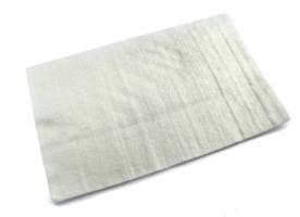 Uitlaatdemper wol op mat / 50x50cm