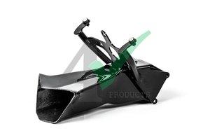 Aluminium kuipsteun Yamaha + Racing luchtinlaat