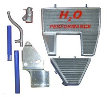 H2O Racing radiator Ducati / oversized