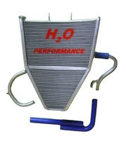 H2O Racing radiator Kawasaki / oversized