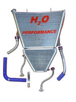 H2O Racing radiator Suzuki / oversized
