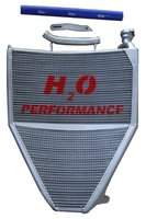 H2O Racing radiator Triumph / oversized