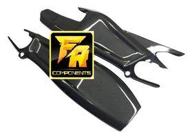 ProFiber carbon/kevlar swingarmcovers / KTM RC8