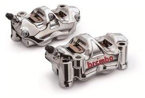 Brembo-HPK GP4-RX remklauw / CNC/ nikkel coated / 108MM / Yamaha