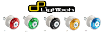 Achtervork bobbins / LighTech / aluminium / race