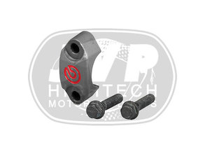 Brembo HPK CNC gefreesde handlebar klem met rood Brembo-logo
