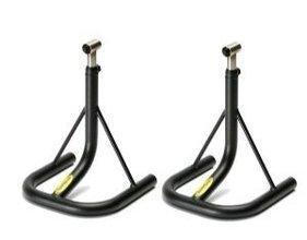 Lightech GP verstelbare side-stands / hoogte variabel van 38cm-56cm / aluminium