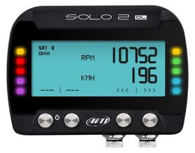 AIM laptimer-datalogger / SOLO 2 GPS DL met RPM-ECU connectie