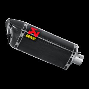 Akrapovic Hexagonal slip-on carbon demper / Yamaha R6